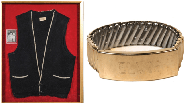 Elvis Auction Items