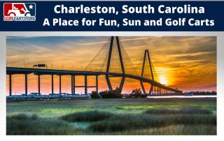 Golf Carting in Charleston