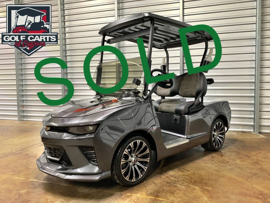 50th Anniversary Chevy Camaro Golf Cart