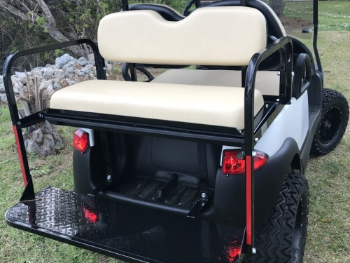 golf cart rear seat for sale