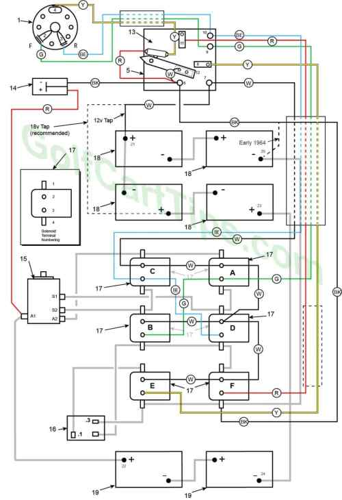 small resolution of 1963 65 model de control circuit wiring diagram for 16 gauge wire