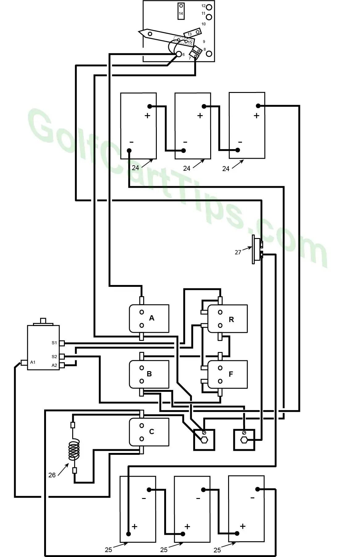 harley davidson golf cart wiring diagram 5 pin led flasher relay diagrams 1967 1978 de