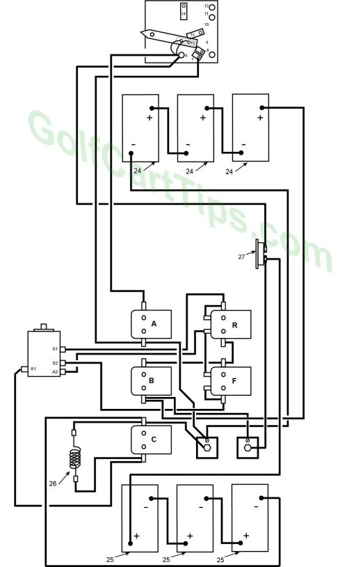 small resolution of 1967 70 model de heavy cable diagram harley davidson golf cart