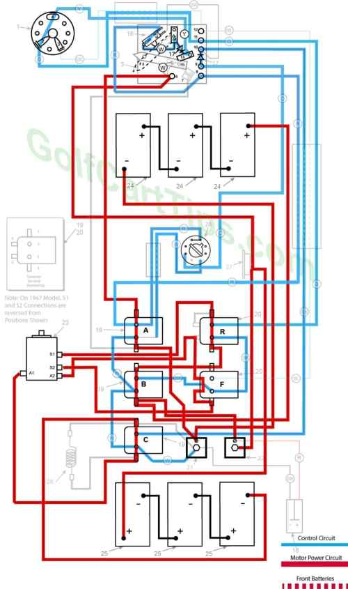 small resolution of harley davidson golf cart wiring diagrams 1967 1978 dereverse first speed only shown