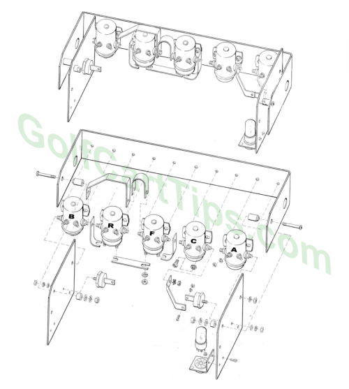small resolution of solenoid array exploded view