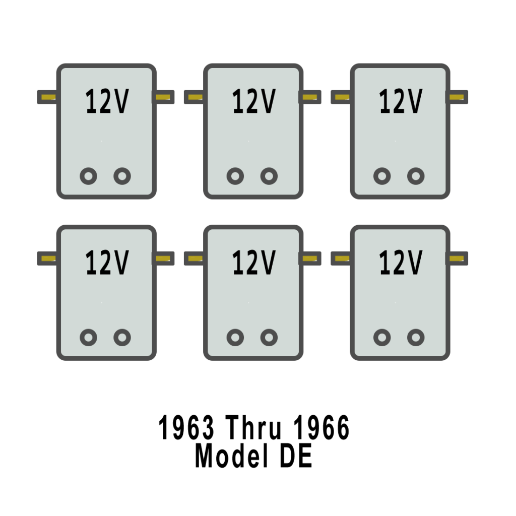 hight resolution of solenoid arrangement for harley davidson golf cart de 1966 68