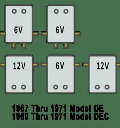 solenoid arrangement for harley davidson golf cart de 1967 71 [ 960 x 960 Pixel ]