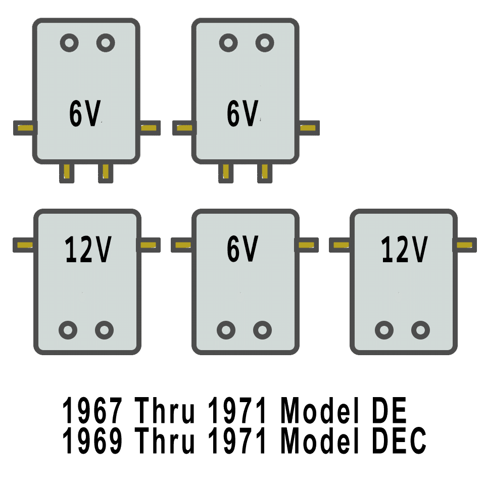 hight resolution of solenoid arrangement for harley davidson golf cart de 1967 71