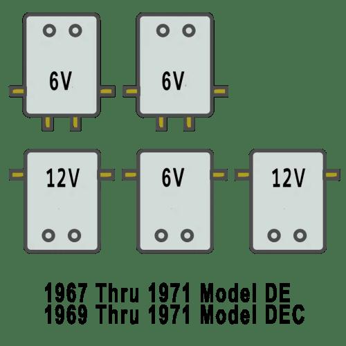 small resolution of solenoid arrangement for harley davidson golf cart de 1967 71