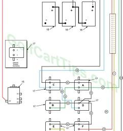 1966 model de control circuit wiring diagram for 16 gauge wire harley davidson golf cart  [ 1024 x 1768 Pixel ]