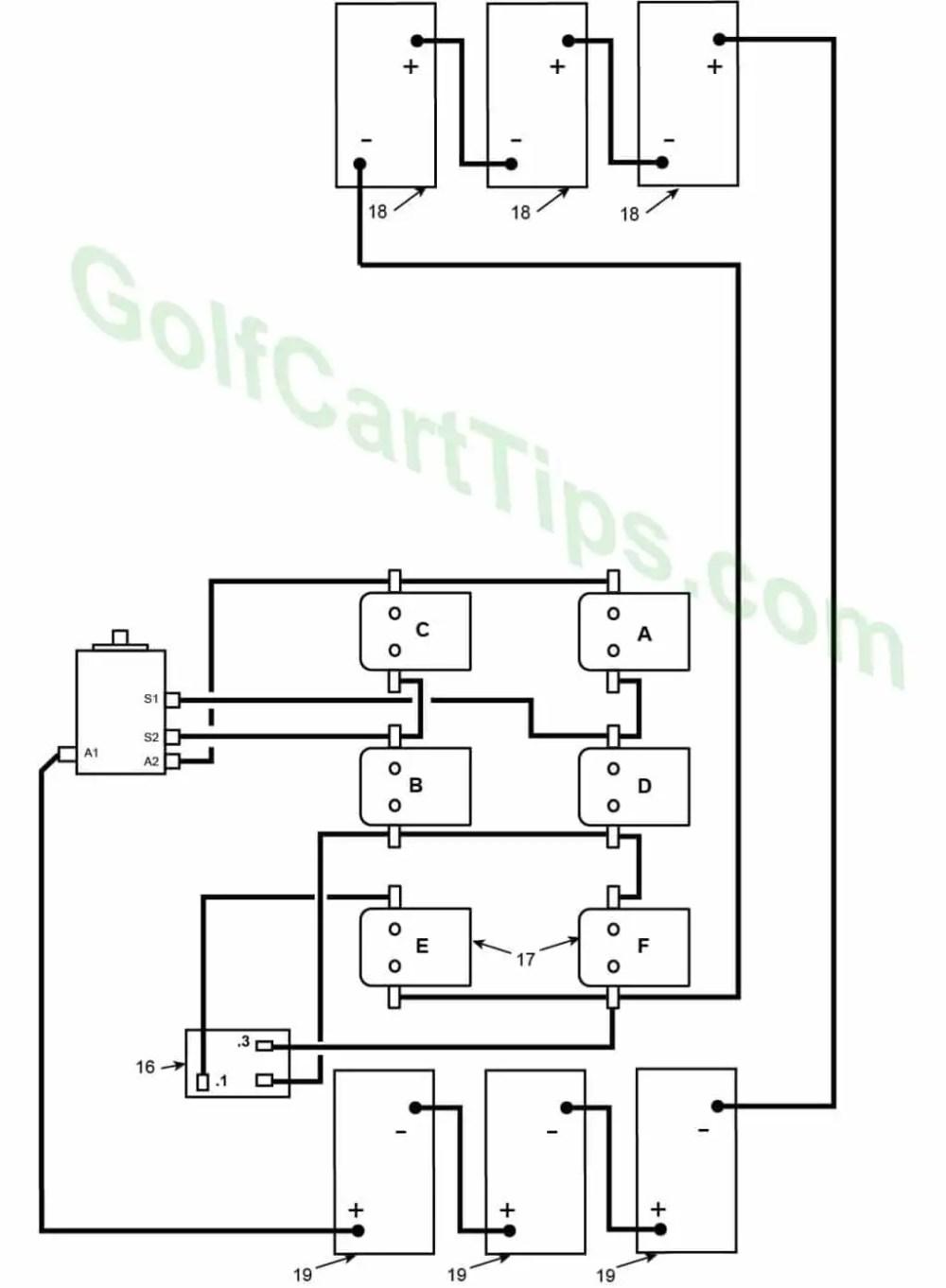 medium resolution of 1966 model de heavy cable diagram harley davidson golf cart