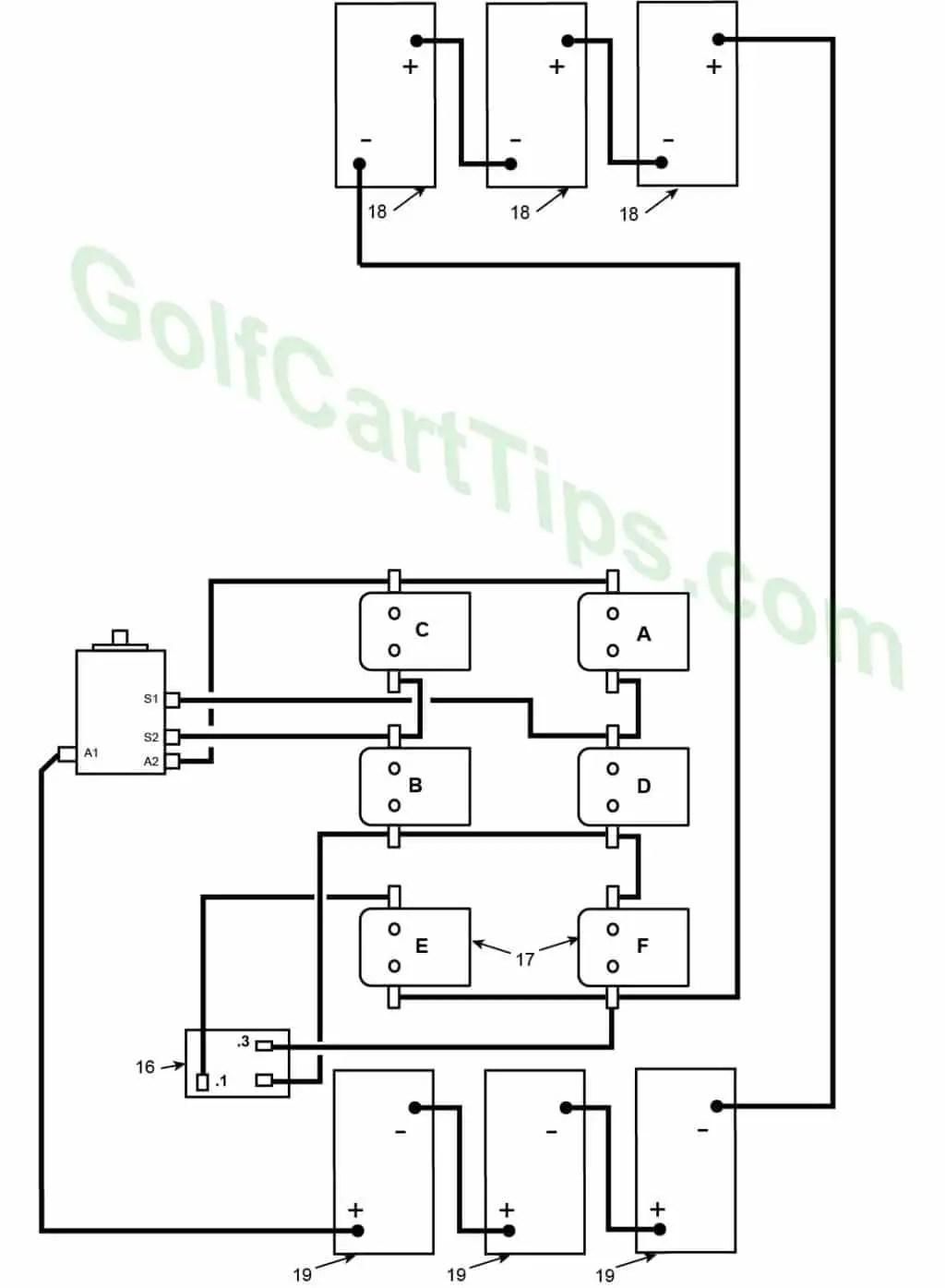 hight resolution of 1966 model de heavy cable diagram harley davidson golf cart