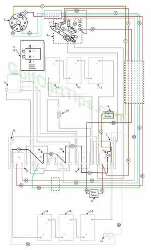 Harley Davidson Golf Cart Wiring Diagrams 1979–1982 DE,DE4
