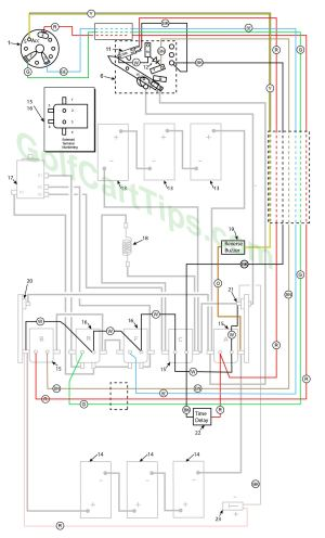 Harley Davidson Golf Cart Wiring Diagrams 1979–1982 DE,DE4