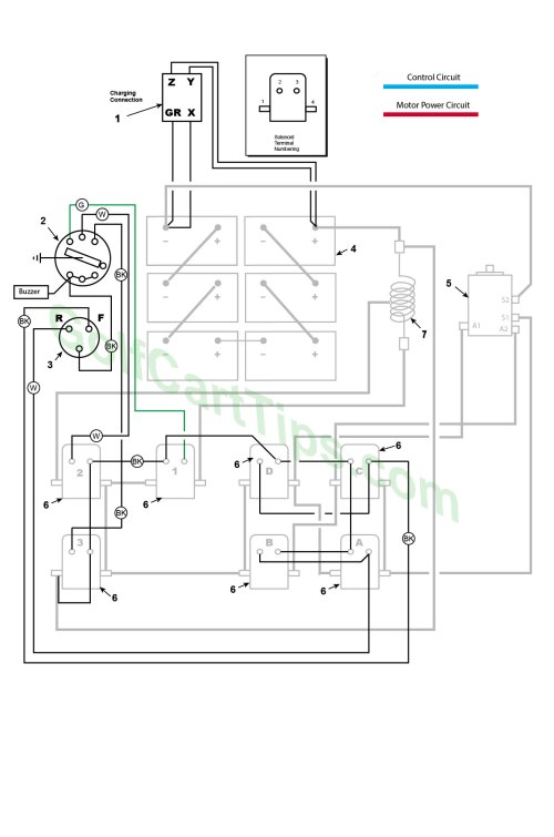 small resolution of ezgo wiring diagrams model 300 late 1950 s accessories wiring diagram ezgo buzzer wiring diagram