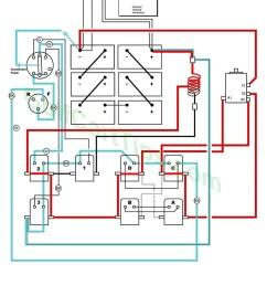 second speed 1950 s ezgo electric diagram  [ 1024 x 1547 Pixel ]