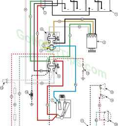 troubleshooting cushman golfsters 1954 58 wiring diagrams cushman 36 volt golf cart wiring diagram cushman 36 volt wiring diagram [ 1024 x 1332 Pixel ]