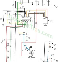 wiring diagram for 1955 model 732 12 golfster and 731 11 industrial 24 volt [ 1024 x 1313 Pixel ]