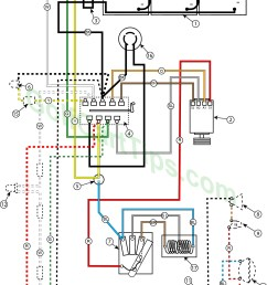 troubleshooting cushman golfsters 1954 58 wiring diagrams cushman 36 volt golf cart wiring diagram cushman 36 volt golf cart wiring diagram [ 1024 x 1400 Pixel ]
