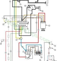 troubleshooting cushman golfsters 1954 58 wiring diagrams club car 24v wiring diagram [ 1024 x 1400 Pixel ]
