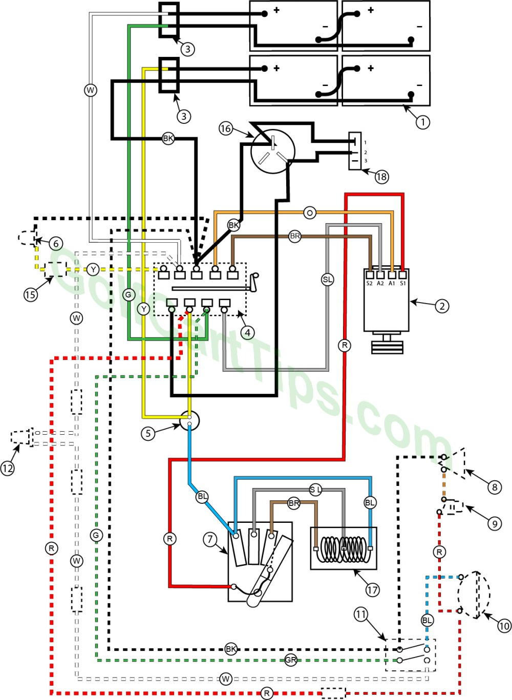 medium resolution of troubleshooting cushman golfsters 1954 58 wiring diagrams club car 24v wiring diagram