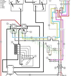 g1e 1980 86 yamaha g1e electrical diagram [ 1228 x 1599 Pixel ]