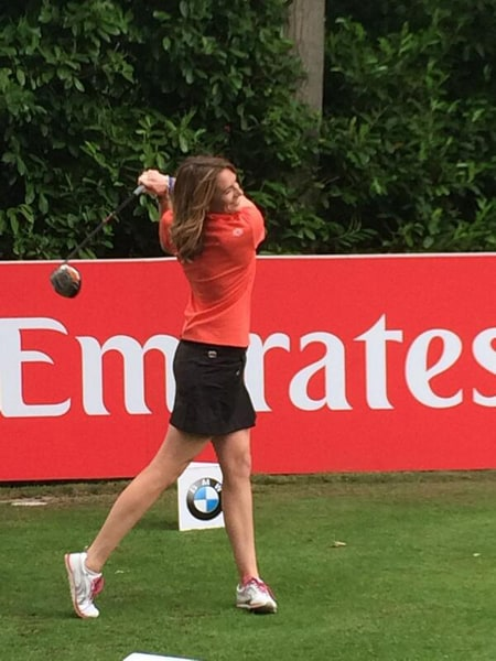 Cara Main Golf : Robinson,, 'Morning, Drive', Co-host, Channel