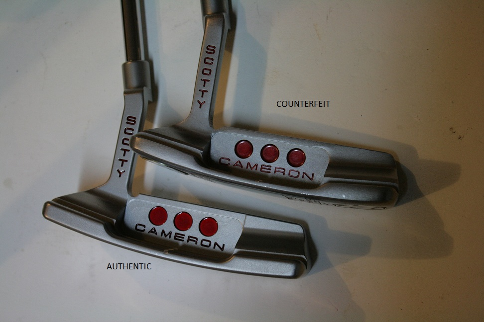 Counterfeit Scotty Cameron Studio Select Newport 2 Putter • Golf