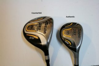 Counterfeit Mizuno MX-700 Fairway Wood