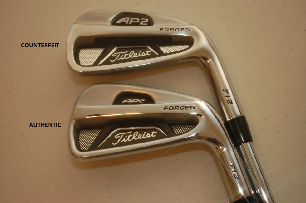 Counterfeit Titleist AP2 712 Iron
