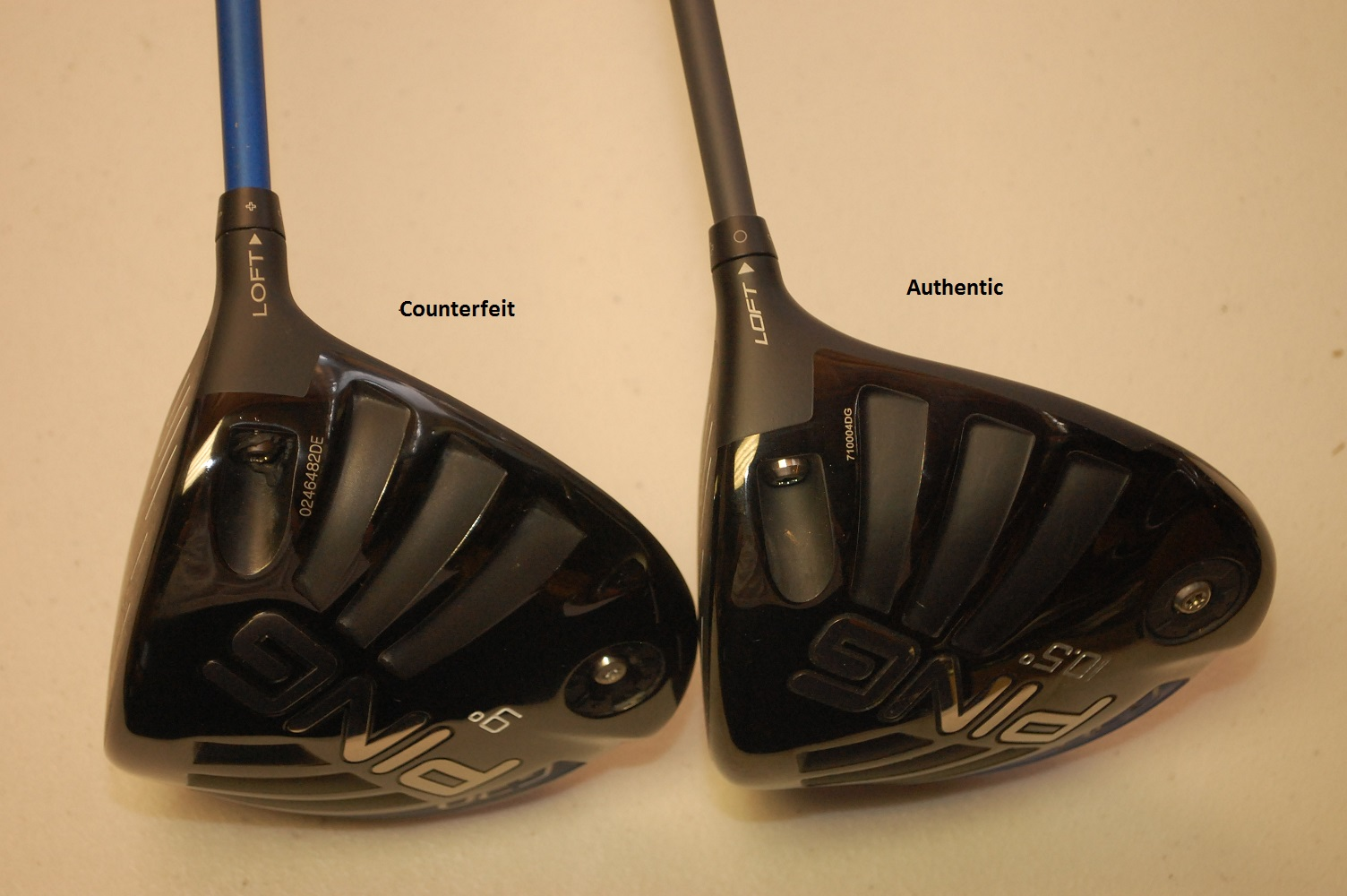 counterfeit mizuno golf clubs