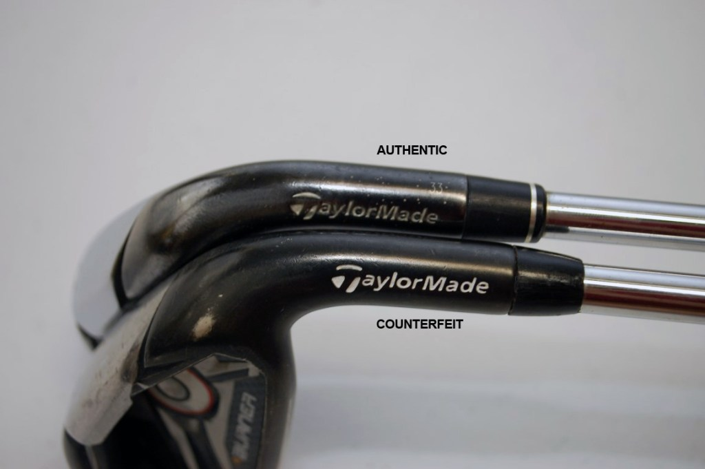 Counterfeit Taylormade Burner 2.0 Iron Set