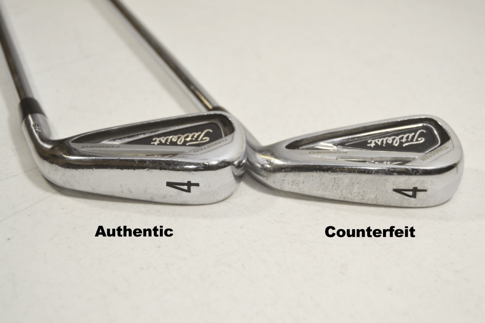 Counterfeit Titleist 716 AP2 Iron Set