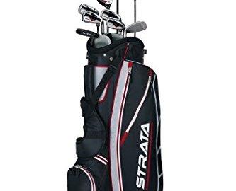 41B1E VhKbL 1 - Callaway Men's Strata Complete Golf Club Set with Bag (12-Piece)