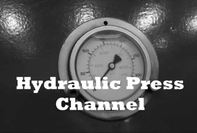 maxresdefault 3 - Crushing golf ball with hydraulic press