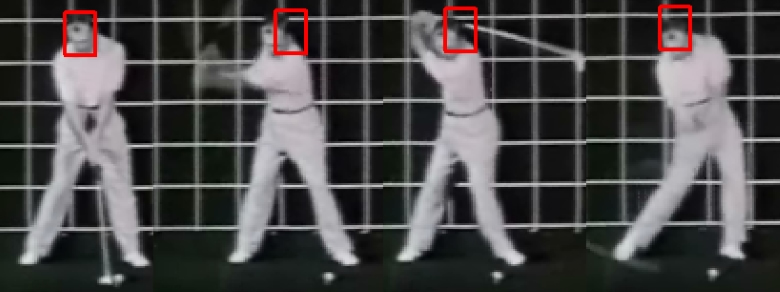 ben hogan head movement 300x112 - The Stress-Free Golf Swing Review