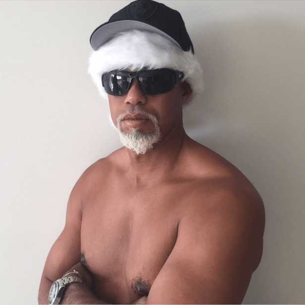 """Tiger Woods explains """"Mac Daddy Santa,"""" and how the character almost caused  him serious bodily harm 