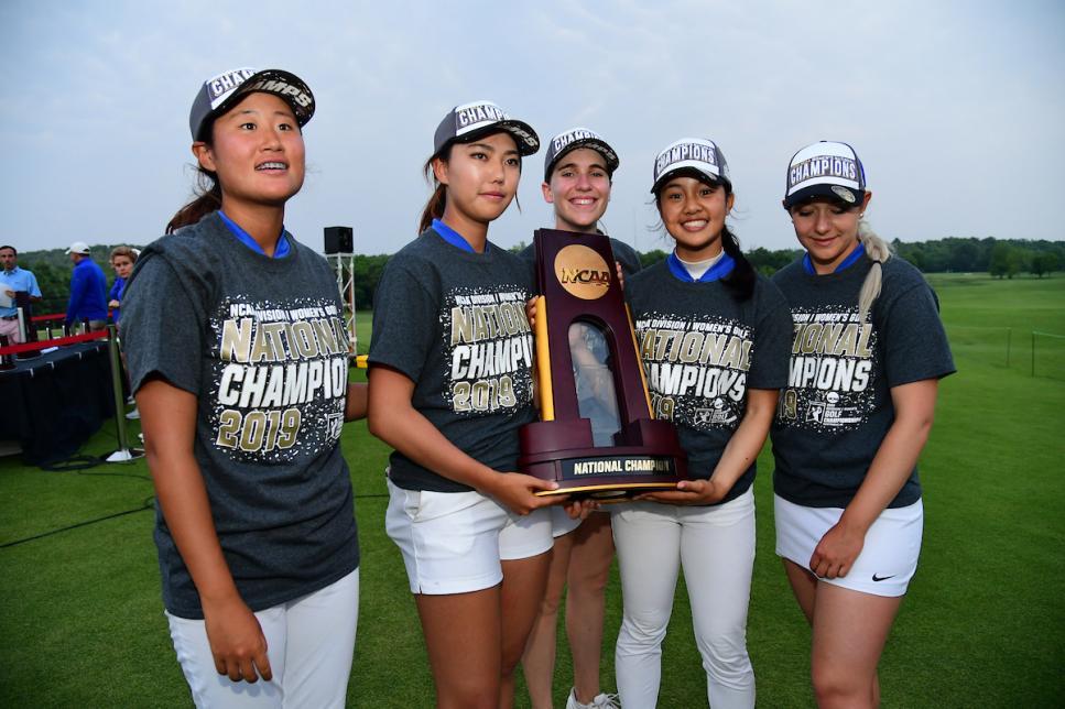 Duke women win NCAA Women's Golf Championship their ...