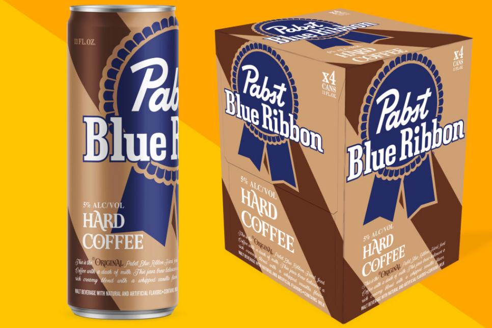 PBR hard coffee is the most terrifying liquid of the week ...