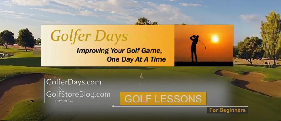 Golfer Days Presents