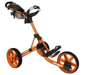ClicGear Cart Golf Trolley 3.5+ Orange
