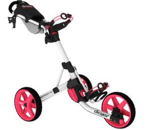 ClicGear Cart Golf Trolley 3.5+ White/Pink