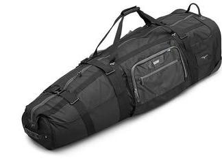 Mizuno Traveller Club Pro Travel Cover - Black