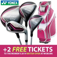 Yonex Ezone Elite Irons/Woods/Bag Package Set - Ladies