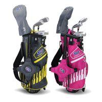 US Kids Golf 4 Club Stand Bag Junior Golf Set 42'' - Age 5