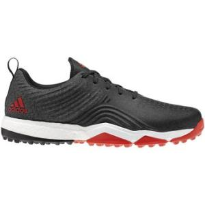 Adidas Adipower 4orged S Golf Shoes - Black / Red