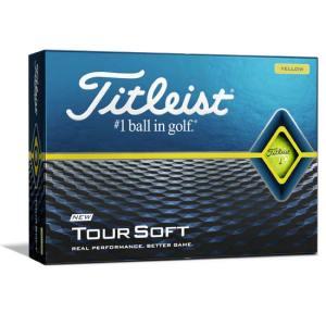 Titleist 2020 Tour Soft Yellow Golf Balls - Doz