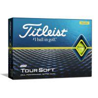 Titleist Tour Soft Golf Balls 2020 - Yellow