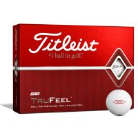 Titleist TruFeel Golf Balls - White