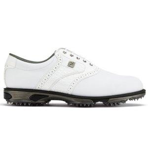 Footjoy 2018 DRYJOYS TOUR Golf Shoes - White/Croc